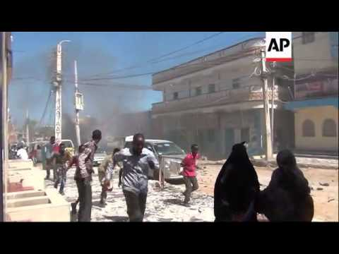 Nine people killed, 37 wounded, by suicide car bomb in northern Somalia