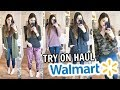 Walmart Shop With Me ❃ Winter Clothing Try On Haul