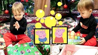 Christmas Morning Opening Presents 2018 Surprise Toys with LEO GALILEO