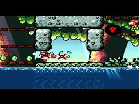 Yoshi's Island 3-7 Monkeys' Favorite Lake