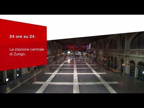 Aperta 24 Ore Al Giorno – La Stazione Centrale Di Zurigo.