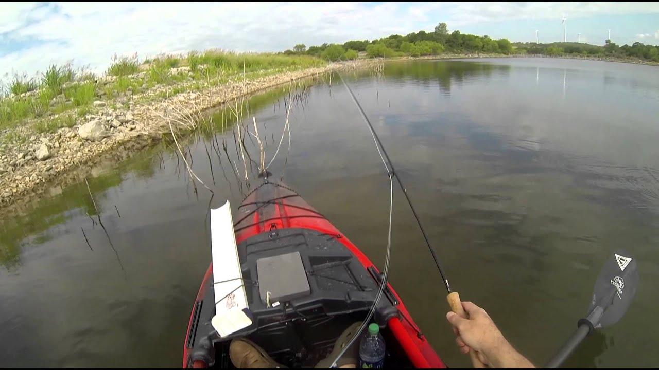 Kayak bass fishing summertime chillin in the jackson for Kayak bass fishing
