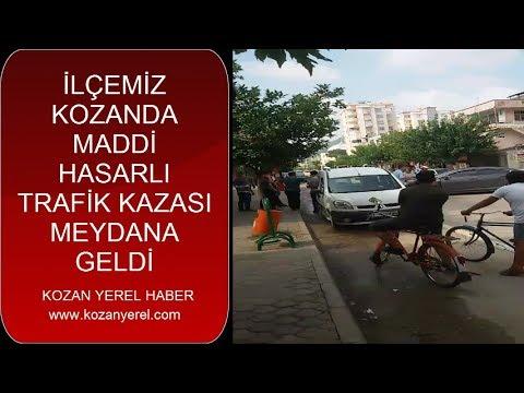 Kozan da Trafik Kazası