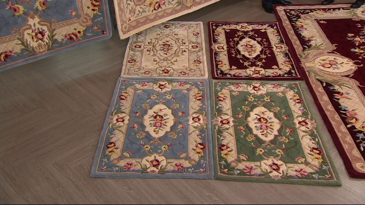 Royal Palace Special Edition Savonnerie Wool Rug On Qvc