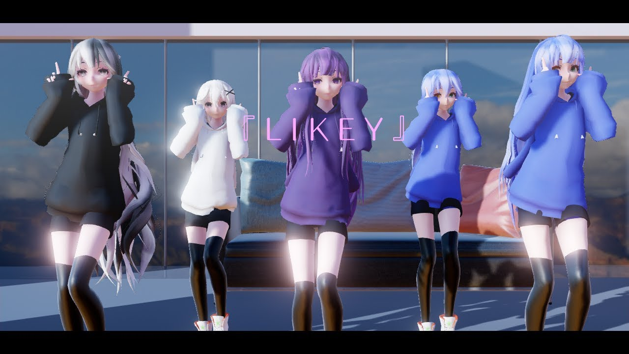 mmd l i k e y youtube
