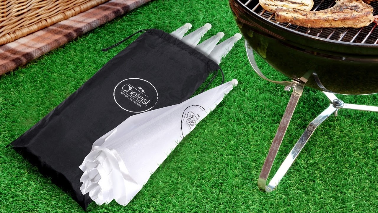 Chefast Food Cover Tents - The Perfect Set For Picnic u0026 BBQ & Chefast Food Cover Tents - The Perfect Set For Picnic u0026 BBQ - YouTube