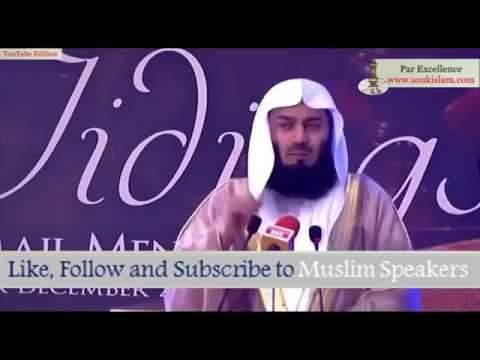 Allah answered Mufti Menk's Dua Instantly - True Story