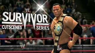 WWE Survivor Series Cutscenes in Video Games