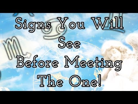 Pick A Card Reading:💕🔮Signs You Will See Before Meeting
