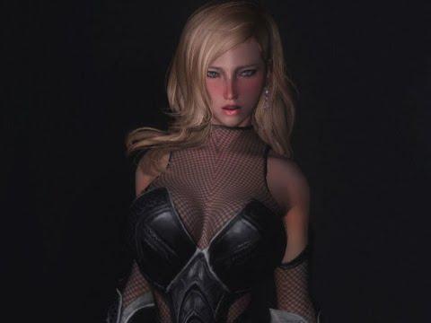 skyrim body mods how to use