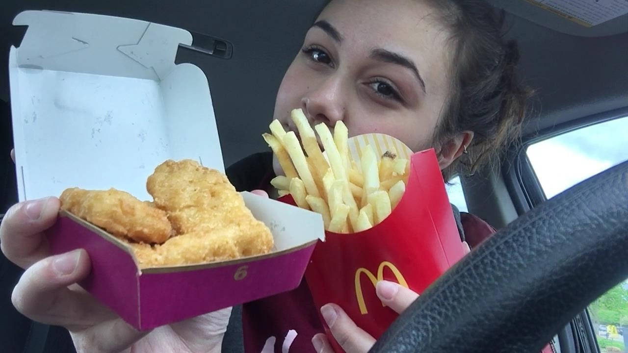 Mcdonalds Chicken Nuggets And Fries Mukbang