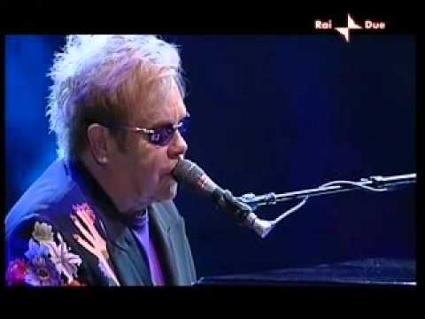 """ELTON JOHN """"NAPLES"""" ITALY 9/11/2009"""