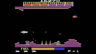 Scramble Gameplay - Atari 2600 Homebrew