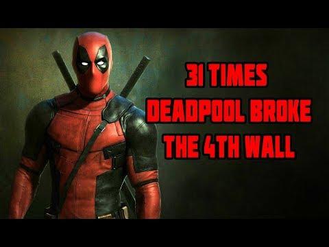 31 Times Deadpool Broke The 4th Wall cuarta pared en el cine