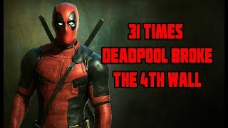 31 Times Deadpool Broke The 4th Wall