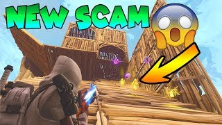 *NEW SCAM* Gun Slide Scam! (Scammer Gets Scammed) Fortnite Save The World
