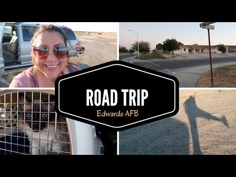 Vlog Road Trip | Edwards AFB Mojave, CA