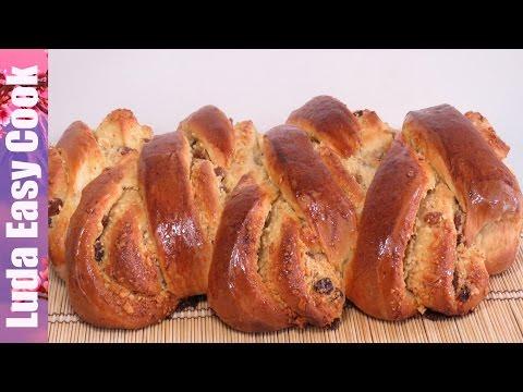 ВКУСНЫЙ ПИРОГ РУЛЕТ с ОРЕХОВОЙ начинкой из сдобного дрожжевого теста - Yeast stuffed pie recipe