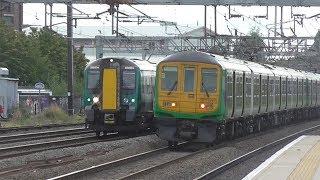 LNWR Class 319s & 350s @ Harrow & Wealdstone - 12th September 2018