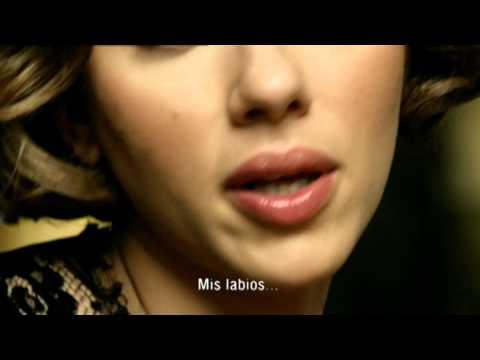 Anuncio Scarlett Johansson perfume Dolce & Gabbana the one