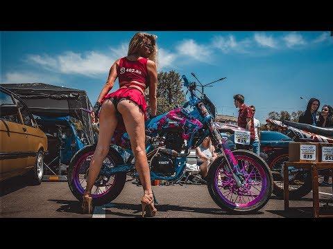 Превратили китайский Эндуро мотоцикл в Мотард (Супермото) и отправились на авто/мото шоу! - Видео онлайн