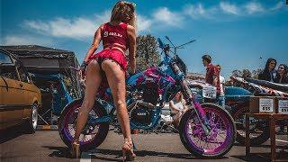 Превратили китайский Эндуро мотоцикл в Мотард (Супермото) и отправились на авто/мото шоу!