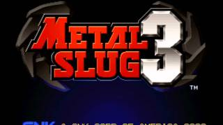 Metal Slug 3 Music- Pyramid (mission Four Part Two)