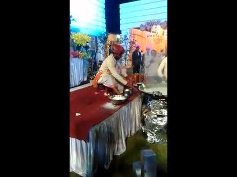 Amazing Milk Stunts in Rajsthani Wedding Function