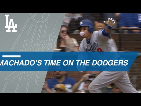 Manny Machado's electric tenure with the Dodgers