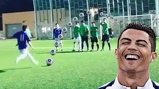 This amateur has a better free kick than cr7 ⚽️ top 5 goals