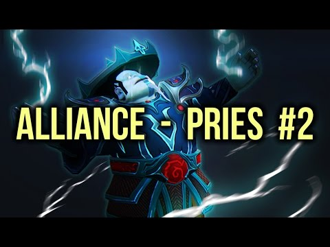 Alliance vs Pries Dota 2 Highlights Champion League Game 2 (voice bug)