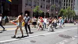 San Francisco Pride Parade 2012 SWANABAQ Southwest Asian North African Bay Area Queers