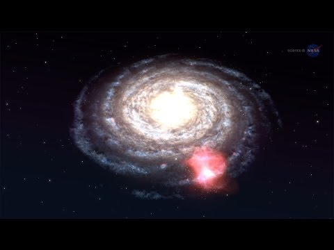 ScienceCasts: Massive Cloud on Collision Course with the Milky Way