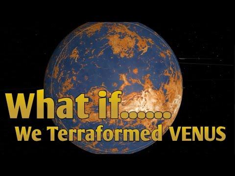 WHAT IF WE COULD TERRAFORM VENUS