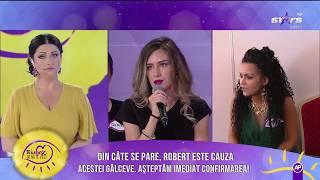 Situaţia materială a lui Robert, mărul discordiei dintre Cristina şi Diandra