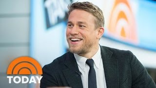 Charlie Hunnam Talks New Film 'King Arthur: Legend Of The Sword' | TODAY