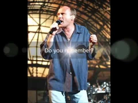 Phil Collins - Do You Remember (Chords)