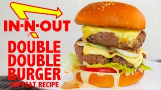 IN-N-OUT DOUBLE DOUBLE BURGER COPYCAT RECIPE - Greg's Kitchen