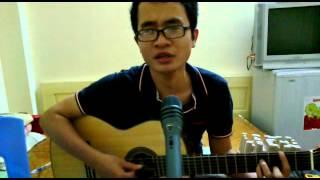 Chỉ riêng mình anh ( Phương Anh) - guitar cover thi the voice FGC =)))