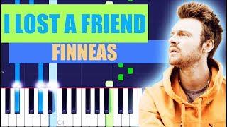 FINNEAS - I Lost a Friend Piano Tutorial EASY
