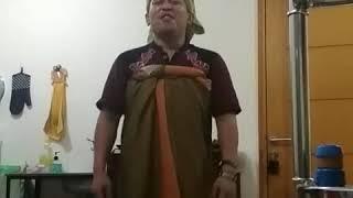 Viral jilbab ungu trend