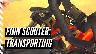 How to transport a Finn Scooter | Finn Scooter
