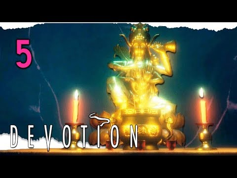 Let's Play Devotion Part 5 - Lady of the Pier [Blind PC Horror Gameplay]