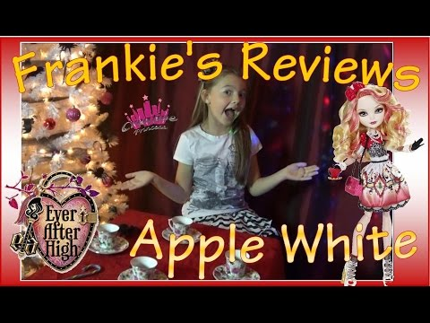 ever-after-high-|-monster-high---frankie-reviews-'apple-white'--creative-princess