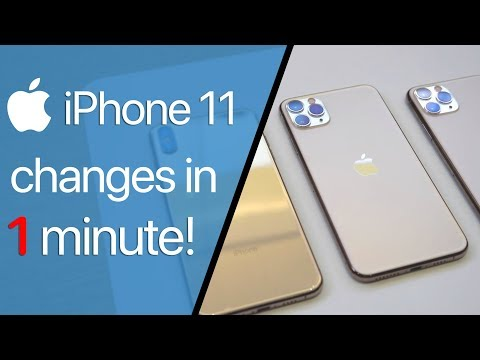 iPhone 11 Pro Max - What's NEW in 1 Minute!