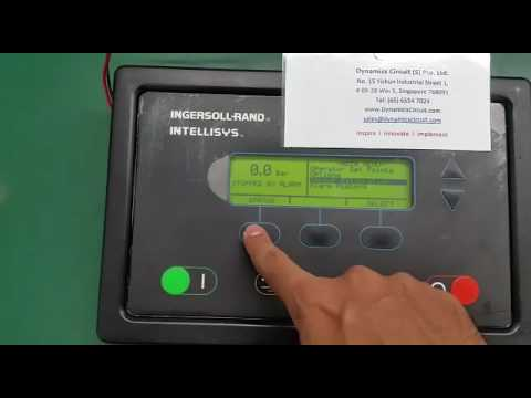 ingersoll rand compressors controller intellisys repairs at rh youtube com ingersoll rand generator intellisys controller manual ingersoll rand sg intellisys controller manual