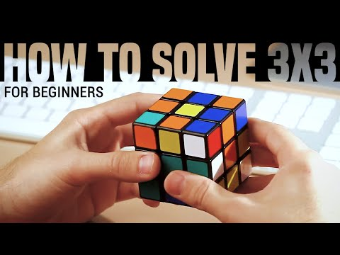 How to Solve a 3x3x3 Rubik's Cube: Easiest Tutorial (High Qu