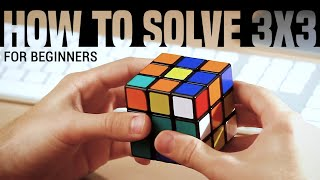 How to Solve a 3x3x3 Rubik's Cube: Easiest Tutorial (High Quality) thumbnail