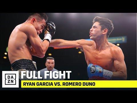 FULL FIGHT   Ryan Garcia vs. Romero Duno