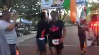 Ultraman Florida Finishing Moment of Milind Soman